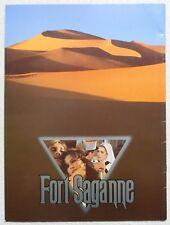 CATHERINE DENEUVE SOPHIE MARCEAU Fort Saganne MOVIE PROGRAM BOOK 1984 RARE JAPAN