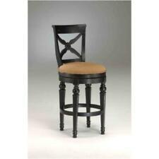 "Set of 2 Bar Stool Wood Cushion Seat Dining Pub Game Bar 30"" Swivel Counter"
