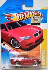 HOT WHEELS 2011 NEW MODELS '10 BMW M3 #26/50 RED FACTORY SEALED