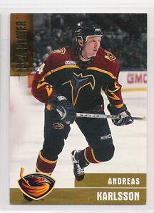 1999-00 Bap Memorabilia Oro #308 Andreas Karlsson