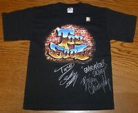 Rikishi Too Cool Scotty 2 Hotty & Brian Christopher Signed WWE Shirt PSA/DNA COA