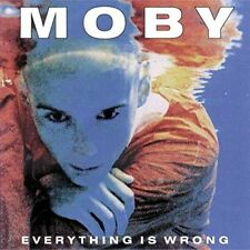 Moby - Everything Is Wrong Limited Edition LP 180g Vinyl MINT 2016