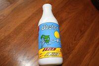 1 Quart Milk Water Juice Bottle by Carlton Glass,Quart Bottle,colorful.