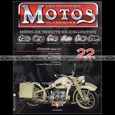 MOTOS CLASSIQUES N°22 ★ ZUNDAPP KS 600 KS600 (Modèle 1937) ★ ZUNDAPP STORY ★