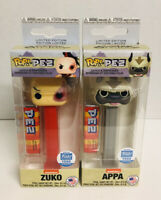 Funko Pop PEZ Avatar Zuko Appa Funko Shop Exclusive 1500 Pieces