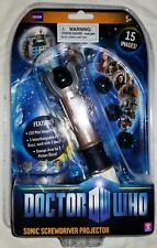 Doctor Who Sonic Screwdriver LED Projector Toy 11th Doctor Amy Pond Daleks