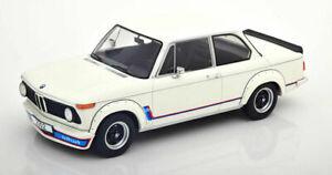 1/18 MCG BMW 2002 turbo white MCG18148 Model Car Group cochesaescala