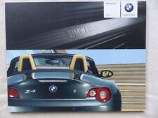 BMW Z4 M Individual Typ E85 Farben & Polster - Prospekt Brochure 01.2005