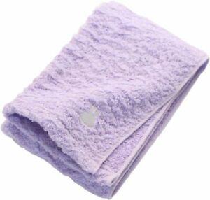 Imabari towel face towel cool Miffy Fluffy Purple