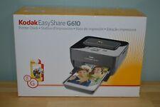 NEW Kodak EasyShare G610 Printer Dock Complete in Box