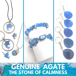5 pack AGATE Wholesale Genuine Gemstone Jewellery Bracelets Pendants or Charms