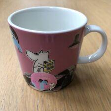 RARE DISCONTINUED Arabia Moomin Mug Keep Waters Clean 2015 Håll Sverige Rent