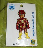 DC Comics Justice League The Flash FanSets Pin 2017 SDCC Comic Con WB Exclusive