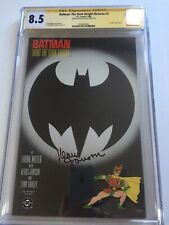 Batman The Dark Knight Returns #3 (1st Printing) SS CGC 8.5 Signed Klaus Janson