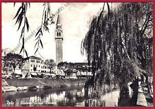 VENEZIA DOLO 02 Fiume BRENTA Cartolina FOTOGRAFICA viaggiata 1958