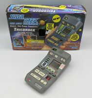 PLAYMATES STAR TREK TNG TRICORDER Lights / Sounds Toy Prop Replica Cosplay