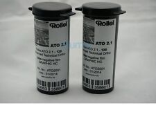 2x Rollei ATO 2.1 120 Medium Format 12 exp. B&W Lith / Lithography film  expired