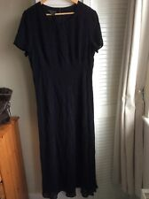 Laura Ashley Black Dress Size 18
