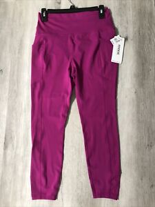 RBX Active Women's Squat Proof High Waist Workout Pants Leggings stretch L Pink