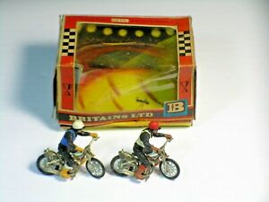 Britain's 9684 Motorcycle Set With Box