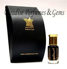 NUOVO * Aoud NERO INTENSO * By Arabian Oud grado AAA prestigioso profumo di olio Attar