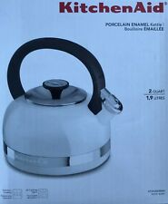 KitchenAid 2.0-Quart Kettle with Full Handle Kten20Dbwh White