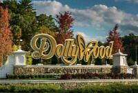 **INSTANT DELIVERY** $55 EACH DOLLYWOOD PARK TICKETS SAVINGS DISCOUNT PROMO TOOL