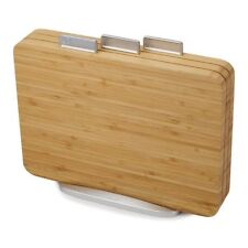 Joseph Joseph Index Bamboo Chopping Board Set 3 Piece Food-specific Wood Stand