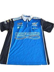 Nascar Race Worn Crew Shirt. Kaulig Racing. Kaulig Companies. Nascar Cup Series