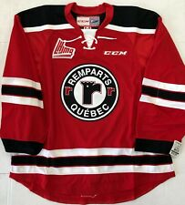 New Authentic Pro Stock CCM Quebec Remparts Hockey Player Jersey 56 7287 QMJHL