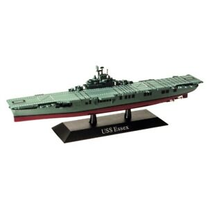 DeAgostini 06 US Aircraft Carrier Essex 1942 1/1250 Scale Diecast Model Ship