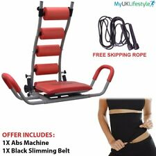 Abdominal Ab Rocket Twister Crunches Exercise Machine Fitness Gym Slimming Belt