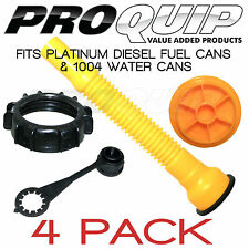 PRO QUIP Platinum Fuel Diesel Fuel Can Accessories - 4 Pack