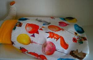Pucksack♥ lustige Tiere♥Schlafsack♥Strampelsack♥Baby♥0-2Jahre♥Handmade♥Baumwolle