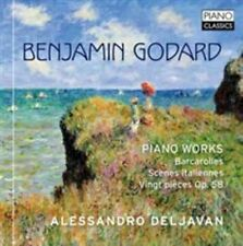 Benjamin Godard: Piano Works, Alessandro Deljavan CD | 5060385450079 | New