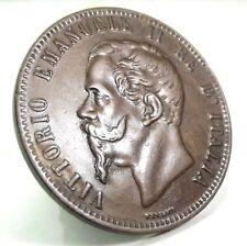 Vittorio Emanuele II (10 CENTESIMI) 1867 OM