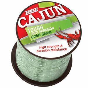 CAJUN TOUGH GATOR GREEN Fishing Line 1/4 lb Spool Choice of lb Test