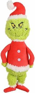 "Fetch4pets.com Dr. Seuss How the Grinch Stole Christmas 9"" Plush Pet Dog Toy NWT"