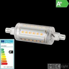 R7s LED Stab-Leuchte - 28x 3-Chip SMDs -78mm - 6W - 500Lm - warm-white 2700K