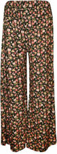 Unbranded Flower Loose Fit Trousers for Women