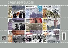 Poland / Polen 2020 - Mi S/S 5190-98** The Road to Freedom