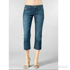 "JOE'S Women's Capri Denim Jeans ""SOCIALTE KICKER""  in HARVEY  Cropped SIZE 27"