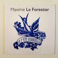 MAXIME LE FORESTIER : LA P'TITE HIRONDELLE ♦ CD Single Promo ♦
