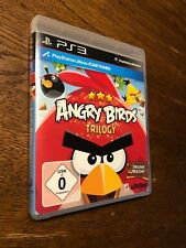 Angry Birds Trilogy Sony PlayStation 3 PS3 Wie Neu Blitzversand Worms Neue Lvl