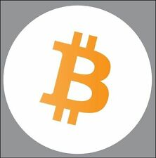 Bitcoin BTC sticker decal FREE SHIP