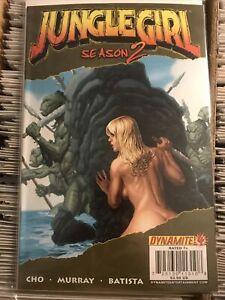 JUNGLE GIRL SEASON 2 #4 SEXY BACK FRANK CHO VARIANT COVER shanna she-devil 2008