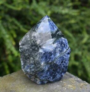 Natural Sodalite Polished Crystal Point Piece 293g Inc Luxury Gift Box