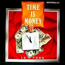 """12"""" - LA FONG - TIME IS MONEY (DANCE 1988) NUEVO, STOCK DE TIENDA - MINT"""