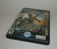 Medal of Honor: Rising Sun (Sony PlayStation 2, 2003) PS2 Complete CIB EXCELLENT