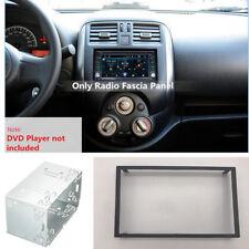Silver Car Audio Radio Stereo 2 Din Dash Kit Fascia Mounting Installation Frame
